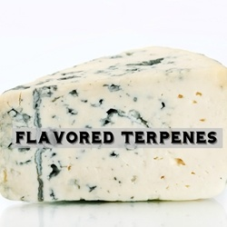 Blue Cheese Type Flavored Terpenes**